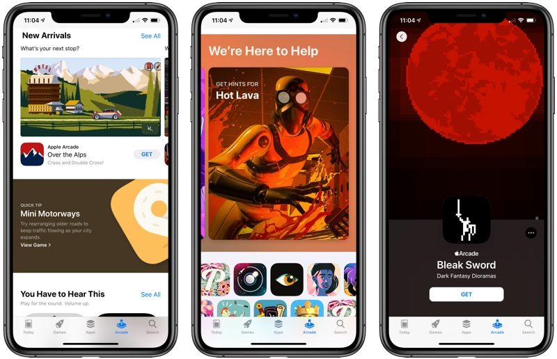 Enable Apple Arcade & Get a Free Trial Month on iOS 13
