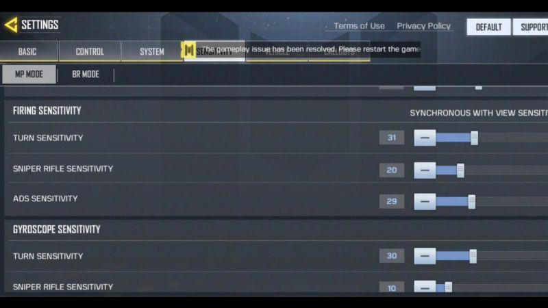 Call of Duty Mobile:Best Aim & Sensitivity Settings