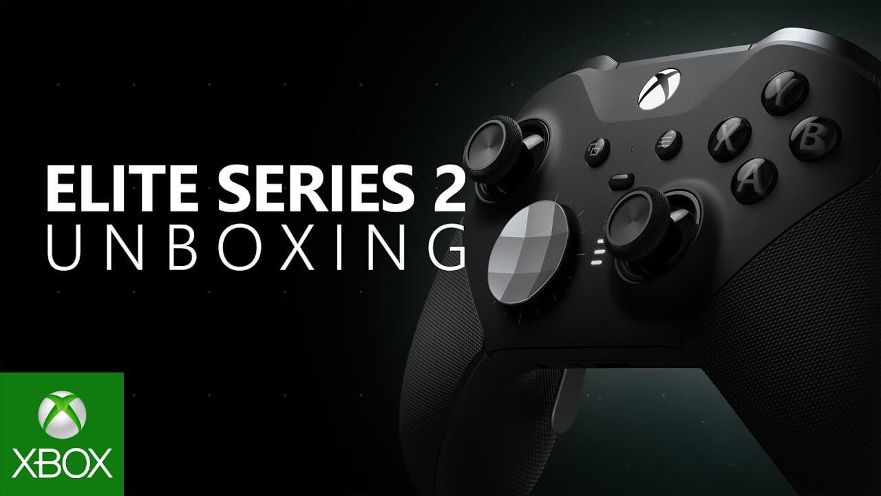 New Xbox Elite Controller Series 2 Unboxing Video Details