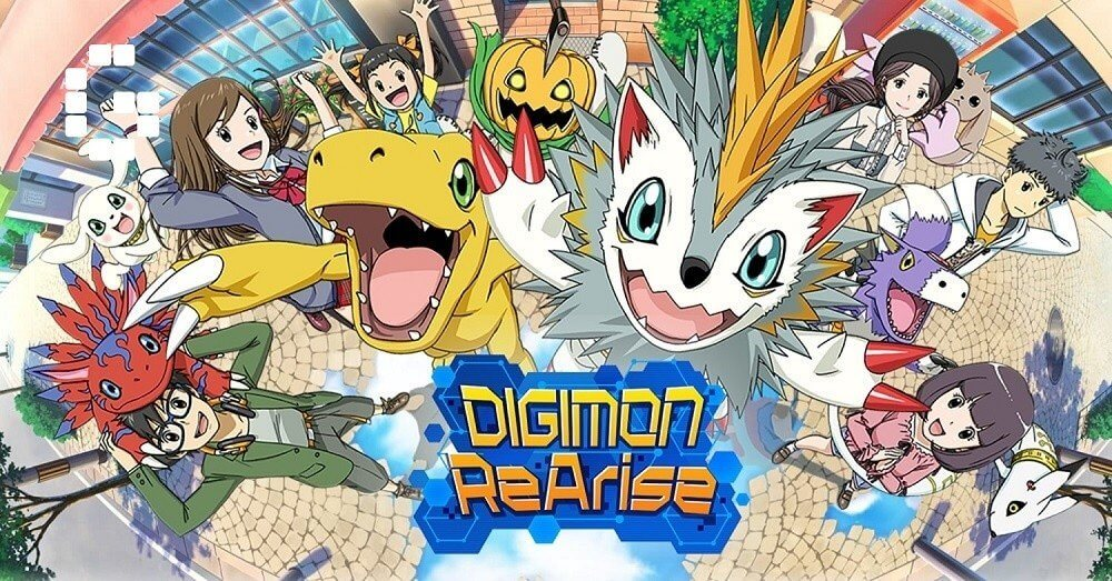 """""""Friendship Digivolving RPG"""" Digimon ReArise is now available for iOS via the App Store and Android via Google Play in the west."""