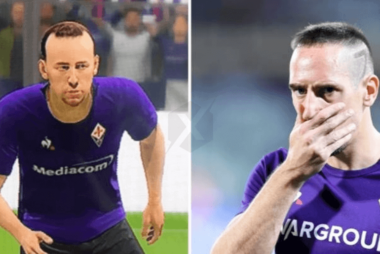 FIFA 20 Franck Ribery criticises EA for its appearance in the game