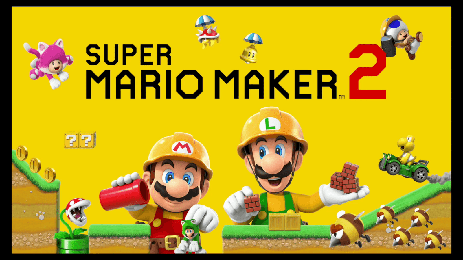 Super Mario Maker 2 Update Version 1.1.0 Full Patch Notes