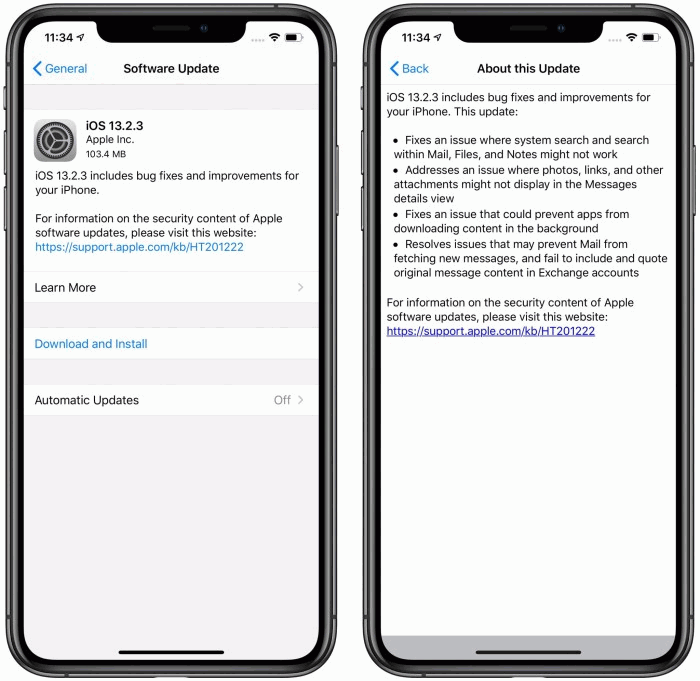 Apple Released NEW iOS 13.2.3 Update Fix Bugs
