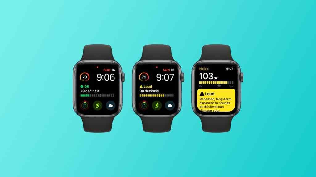 watchOS 6 - How the Apple Watch protects your hearing