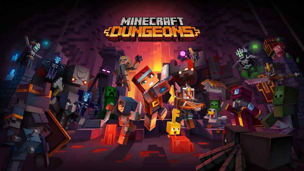 Minecraft: Dungeons Release Date, Gameplay Trailer