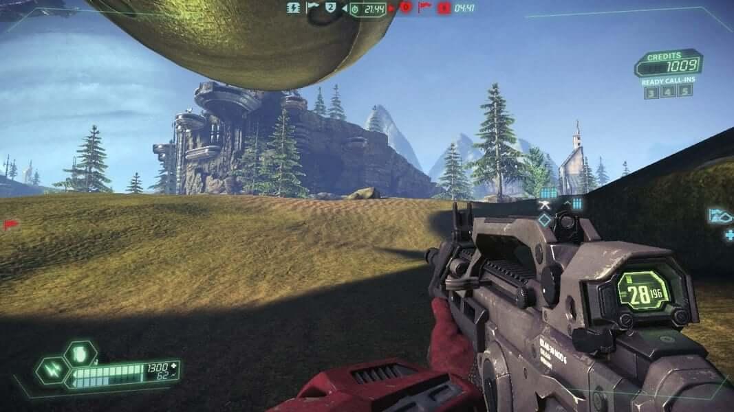 MMORPG shooter