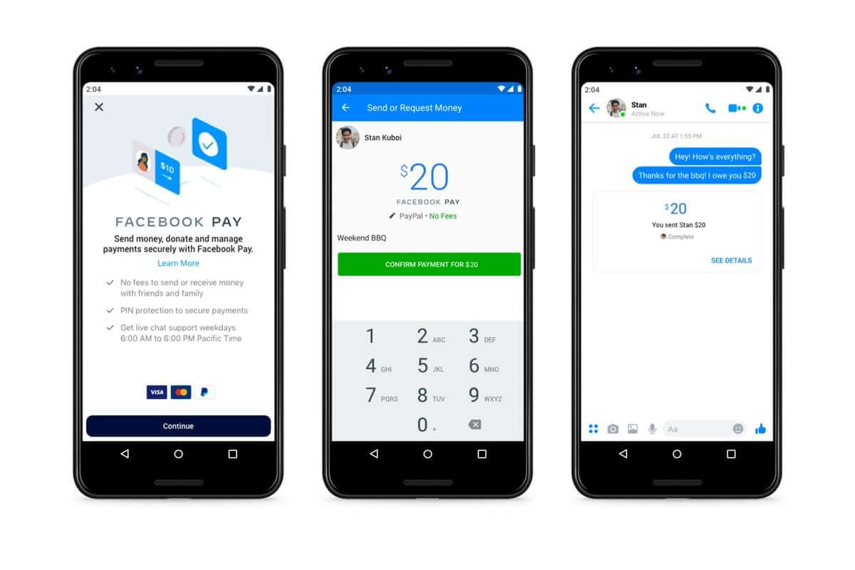 Facebook Pay is available in the US today. What does it allow?