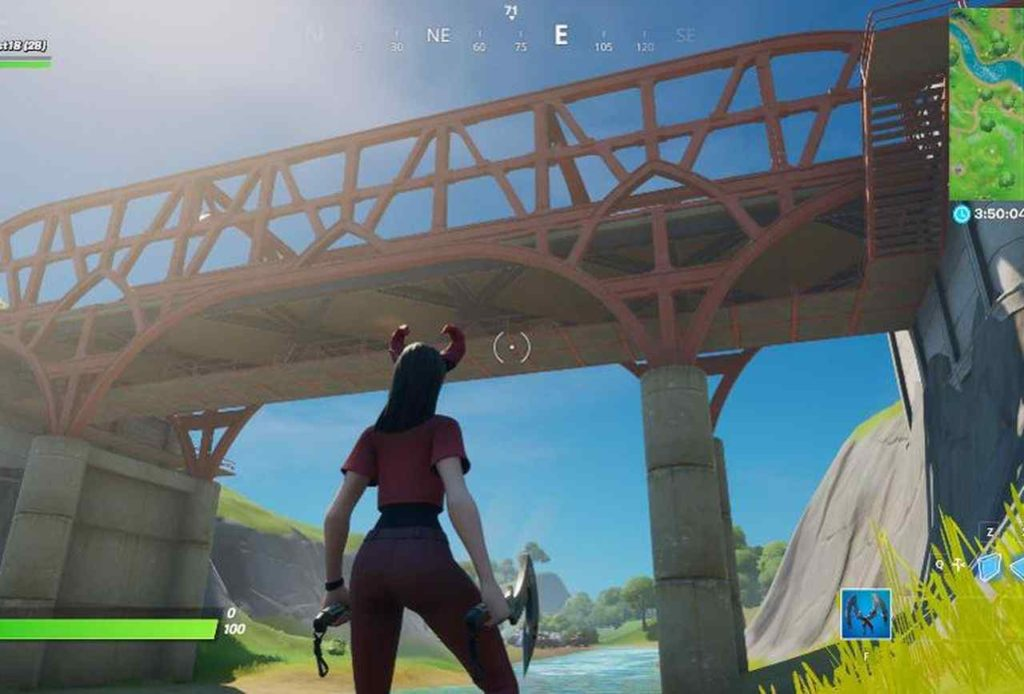 Fortnite Green, Yellow, and Red Steel Bridge locations GUIDE