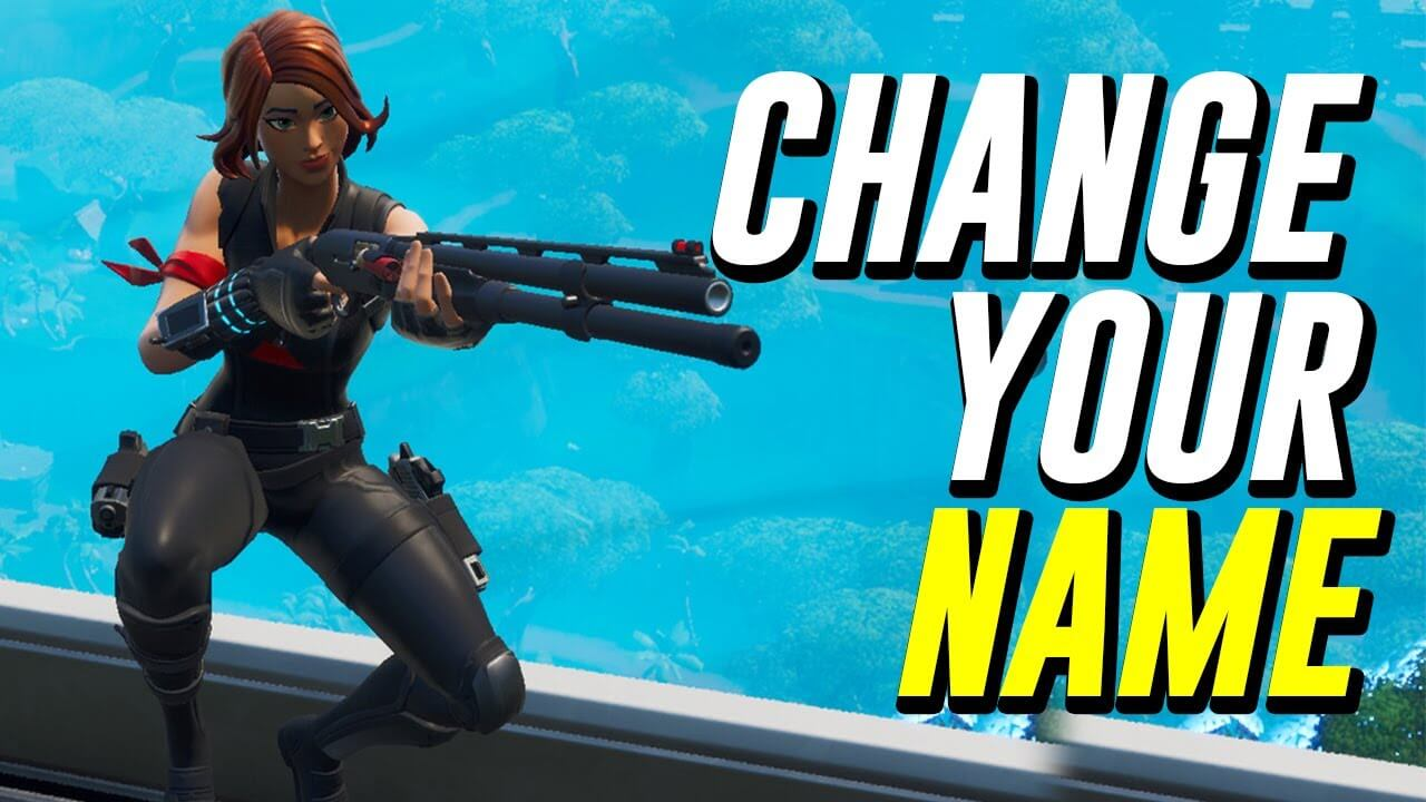 Change Your Name in Fortnite Battle Royale in 2020