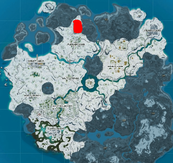 How to Find Fortnite Ice Throne Ammo Boxes Location (GUIDE) 1