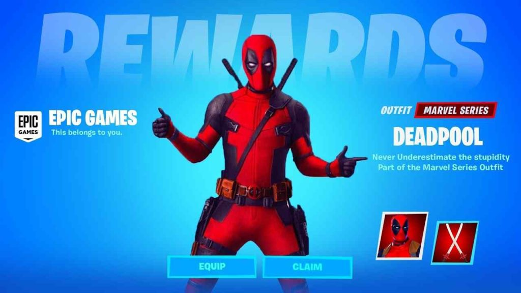 Fortnite Chapter 2: How to get Deadpool Skin in Fortnite