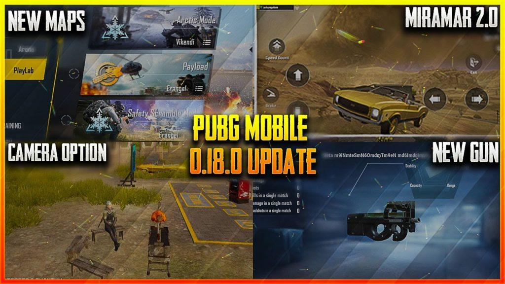 PUBG Mobile Beta 0.18.0 Download New Version 2020