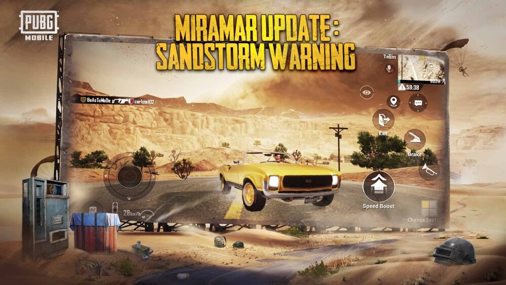 Download PUBG MOBILE - Mad Miramar 0.18.0 APK + OBB Data for Android