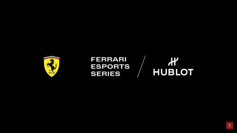 LATEST NEWS: Ferrari Hublot eSport Series Announced 1