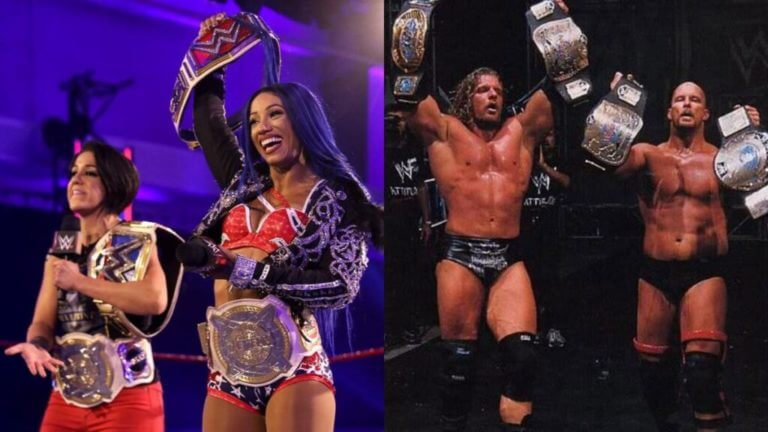 Sasha Banks and Bayley Achieve an Incredible Event in WWE 1