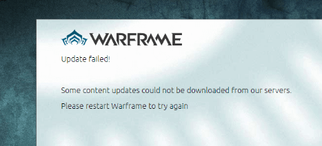 [Solved] How to Fix Warframe Launcher Update Failed! Error Due to Download Content Corrupted