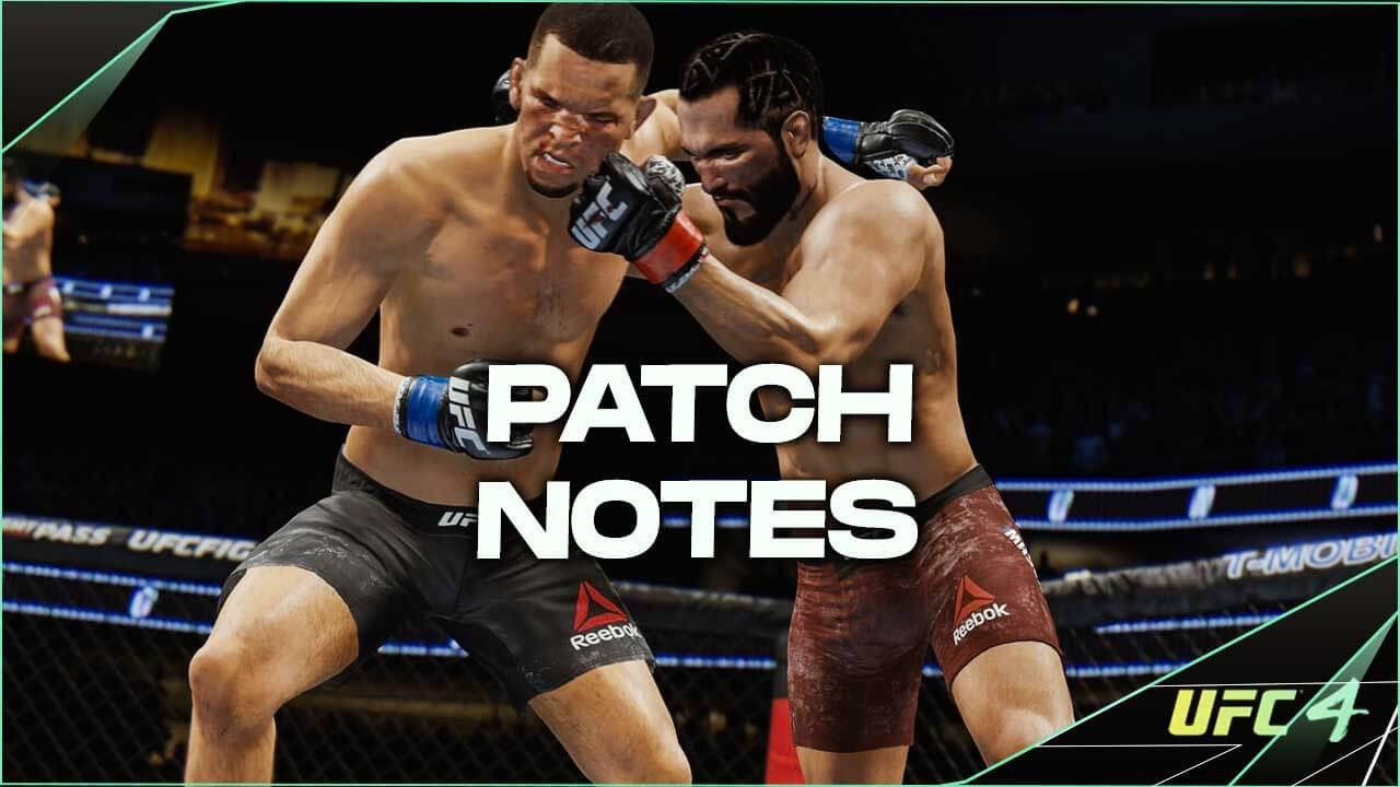 EA UFC 4 update