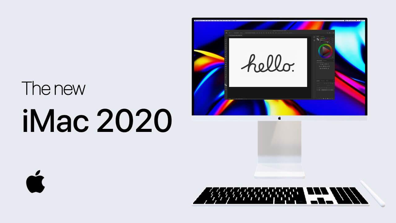 new imac 2020