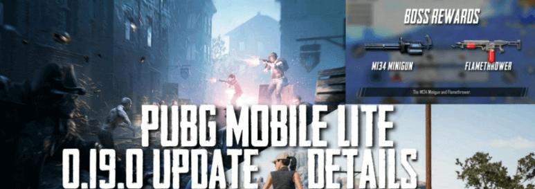 PUBG Mobile Lite 0.19.0 Update apk
