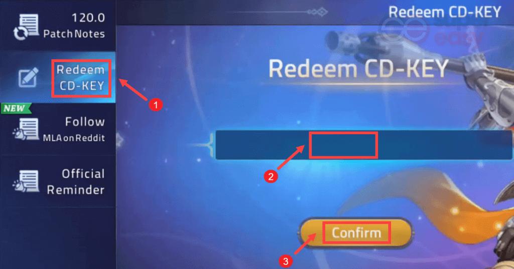 Mobile Legends: Adventure key codes redeem 2021